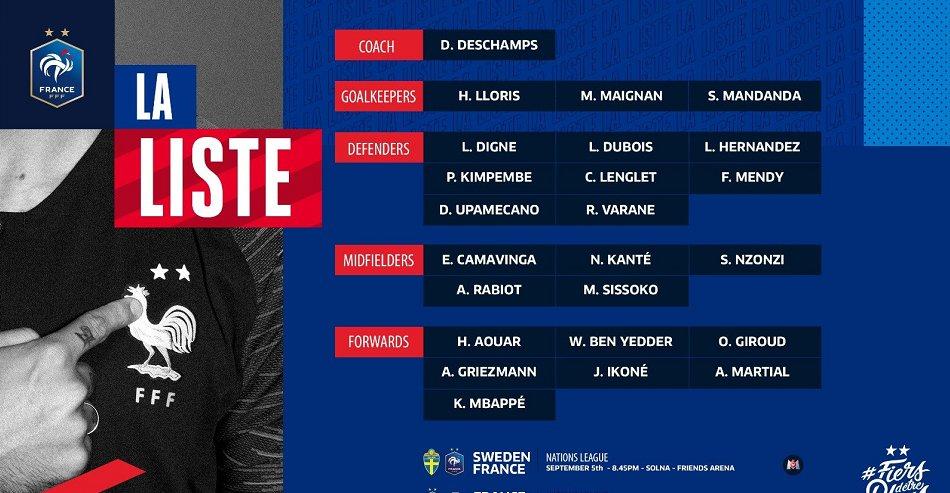 顶级|这阵容深度啥水平?法国队13大主力缺阵,仍能排两大顶级阵容