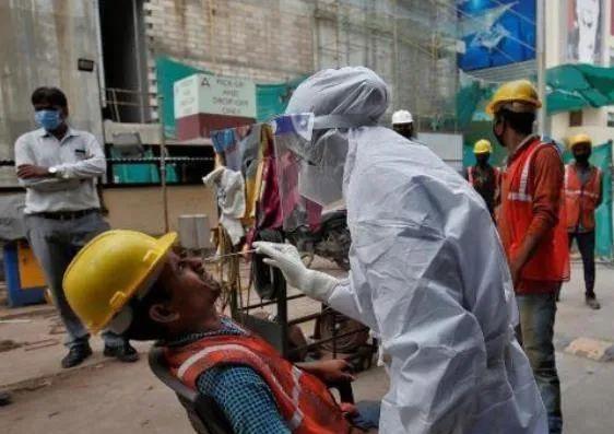 新冠肺炎确诊病例|连续4天新增近10万,印度下月累计确诊数或成全球第一,莫迪发出警告…