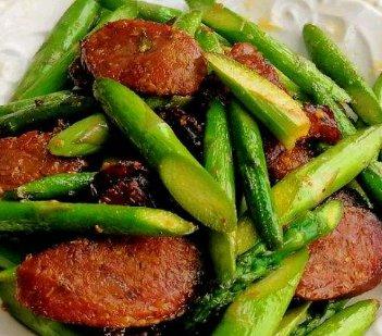芦笋|口感清爽开胃解腻,营养丰富味道鲜美,适合夏季开胃的家常菜