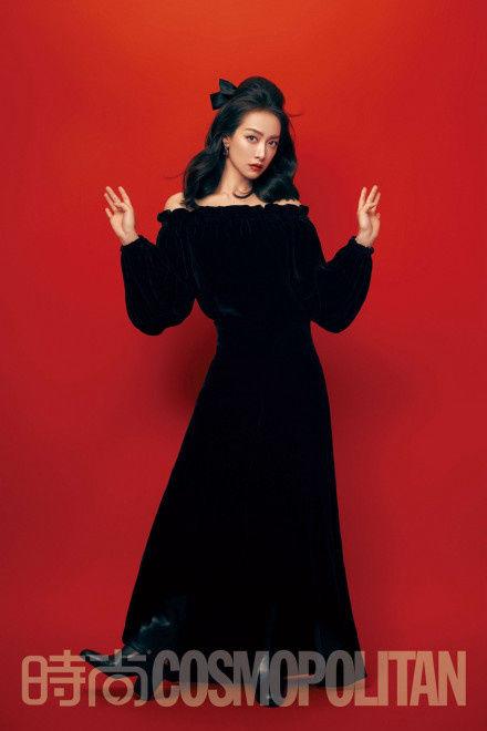 时尚|宋茜暗黑公主造型登封 气场全开展绝佳时尚表现力